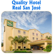 QUALITY HOTEL REAL SAN JOSE - TUCAN LIMO RESERVATIONS HOTELS