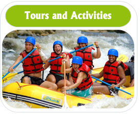 Tours and Activities - Enjoy your trip in Costa Rica